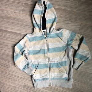 Boy's zip up hoodie